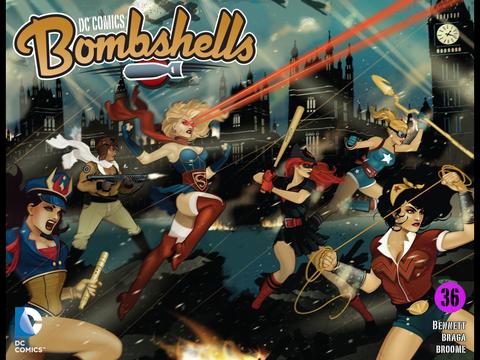 DC Comics: Bombshells #36