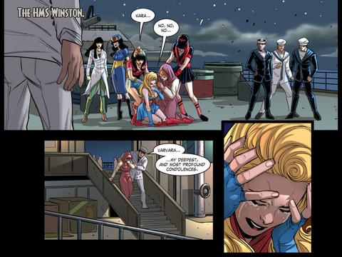 Stargirl's dead. Everyone's sad