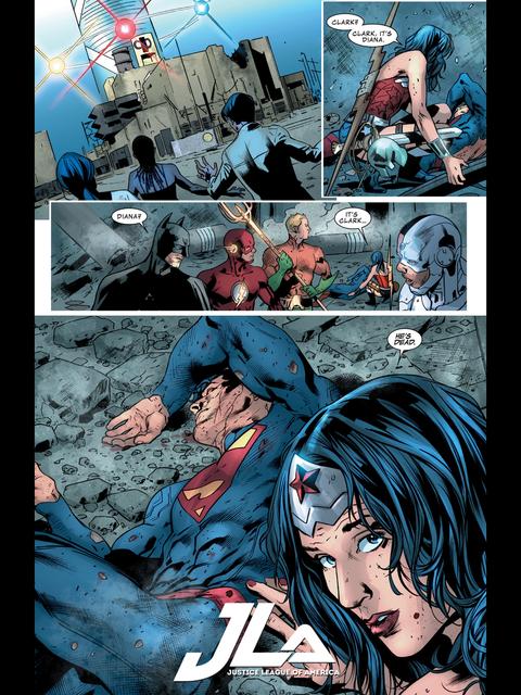 Superman's dead