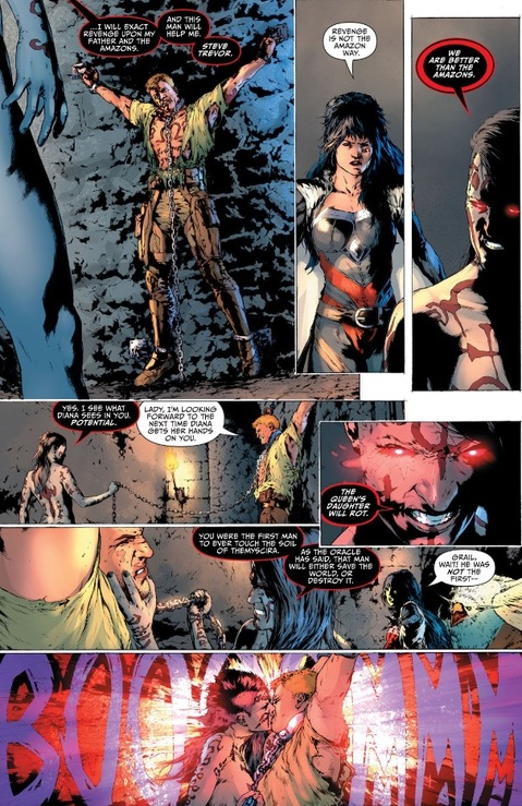 Grail's plan involves Steve Trevor
