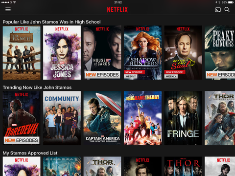 John Stamos takes over Netflix