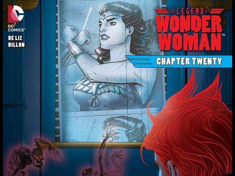 The Legend of Wonder Woman #20