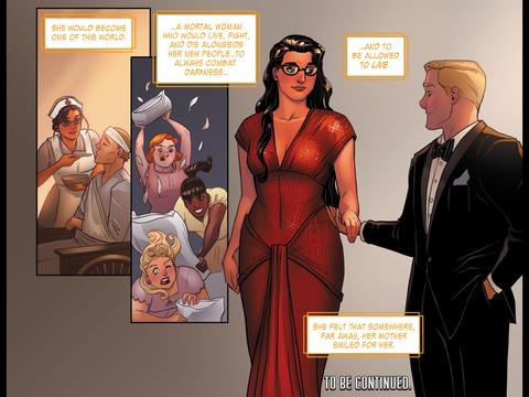 Wonder Woman is mortal