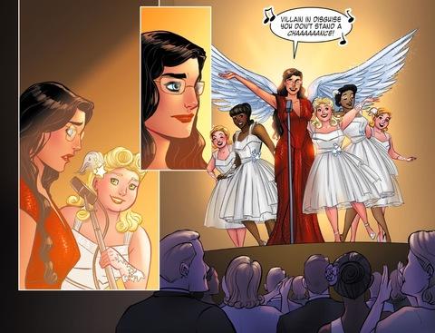 Diana sings