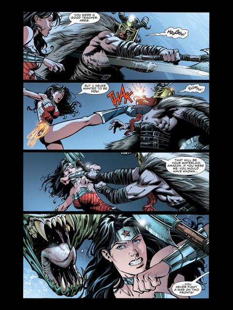Diana defeats Ares