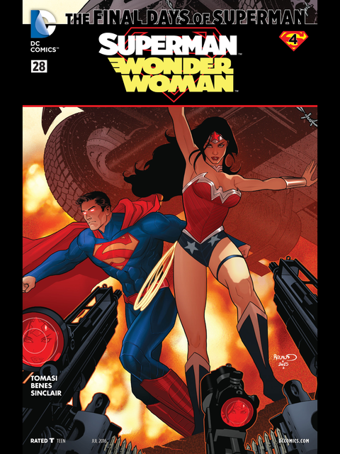 Superman-Wonder Woman #28