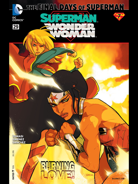 Superman-Wonder Woman #29