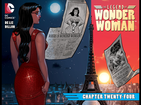 The Legend of Wonder Woman #24-26