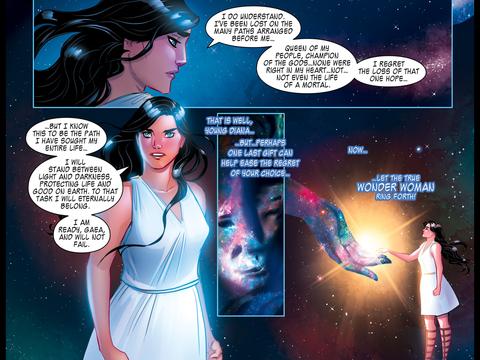 Wonder Woman and Gaia