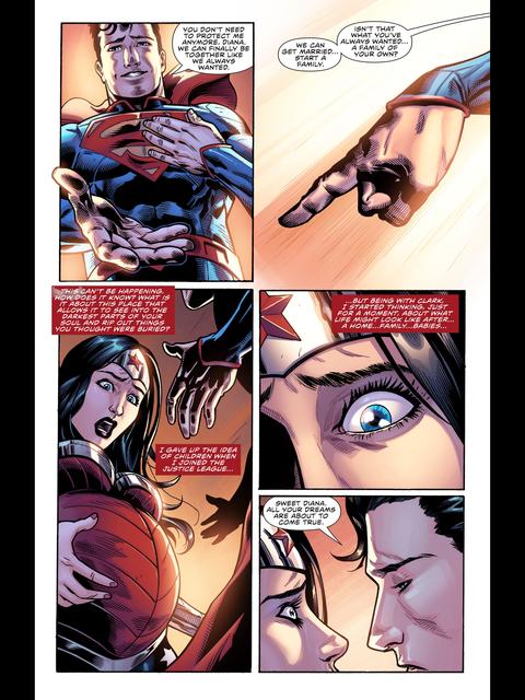 Wonder Woman is pregnant