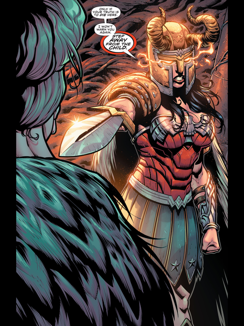 Wonder Woman is goddess of war
