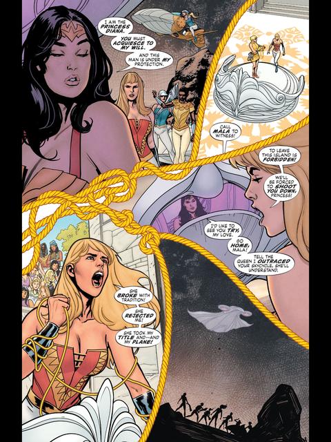 Wonder Woman's girlfriend