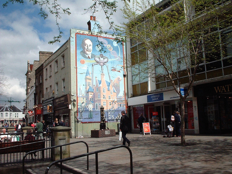 Bromley's old HG Wells mural
