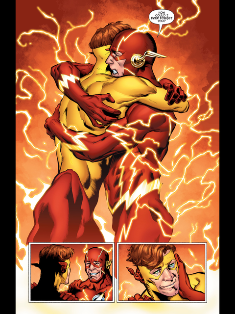 Wally West and the Flash