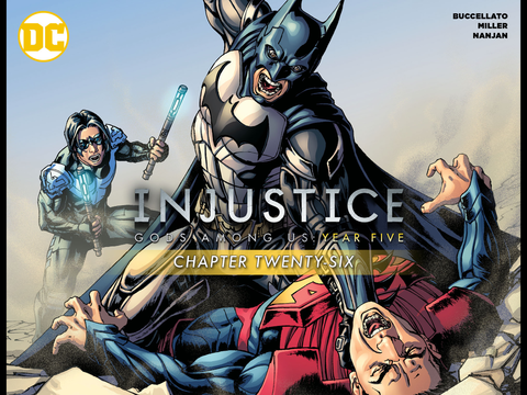 Injustice Gods Among Us Year 5 #26