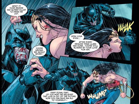 Batman crosses a line
