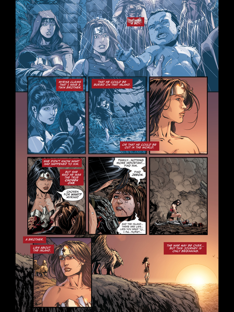 Wonder Woman has a griffin!