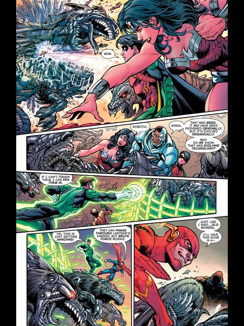 Wonder Woman throws
