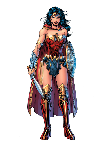 Wonder Woman 75 Costume