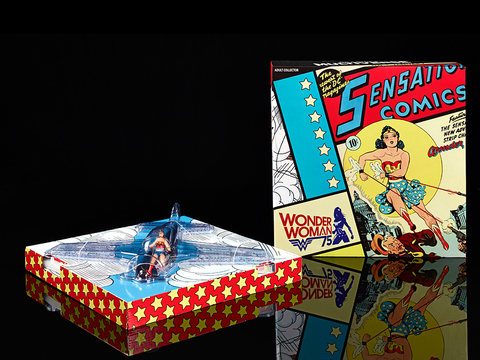 Wonder Woman 75th birthday and Invisible Jet