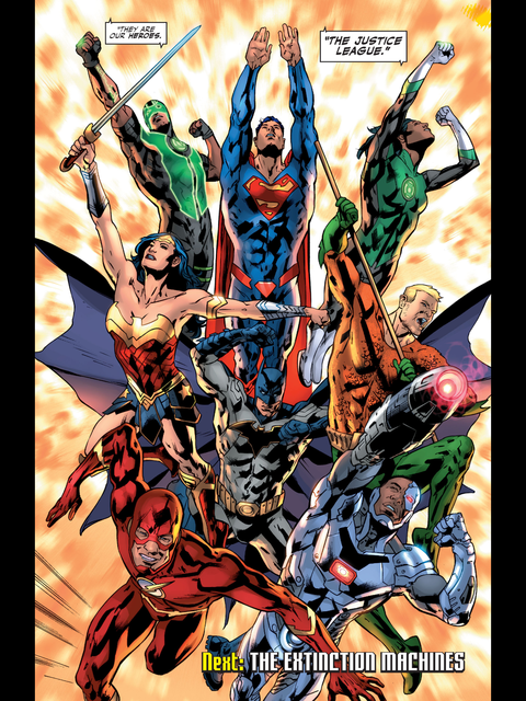 Old Superman joins new Justice League