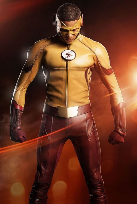 Kid Flash in The Flash