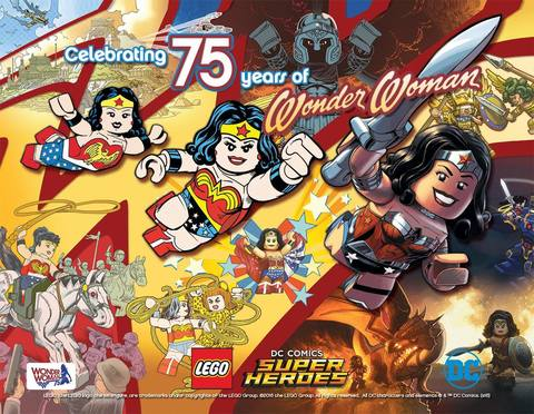 Lego Wonder Woman's 75th anniversary tribute
