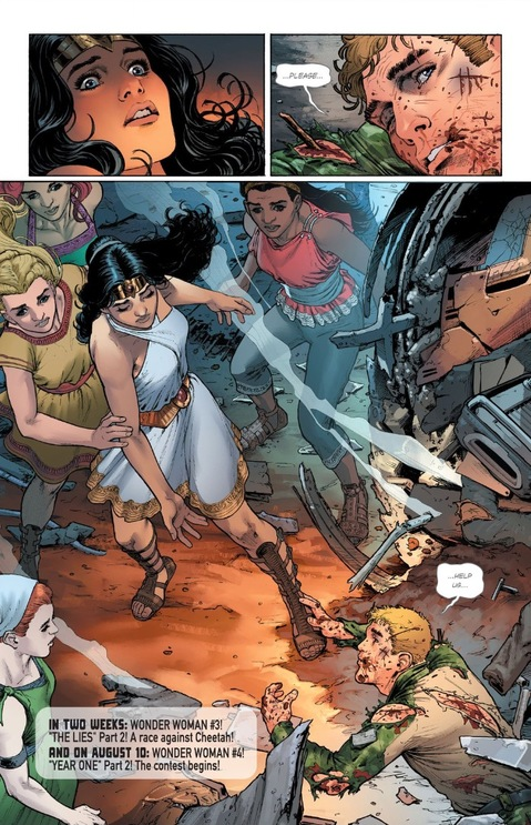 Wonder Woman finds Steve Trevor
