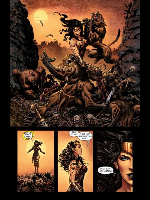 Wonder Woman wins