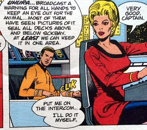 That's not Uhura!