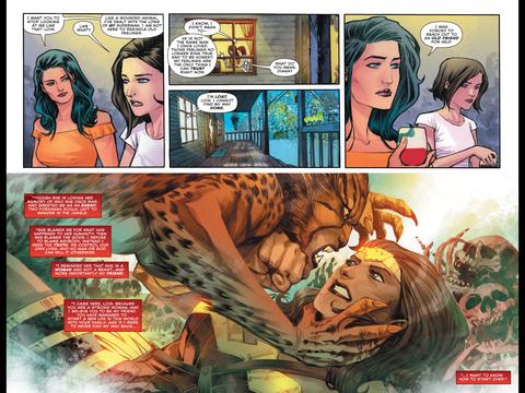 A Wonder Woman briefing