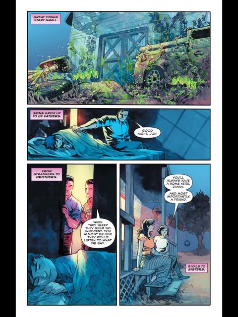 Wonder Woman briefs Lois