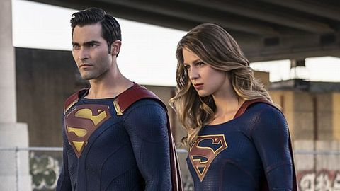Superman and Supergirl in Supergirl
