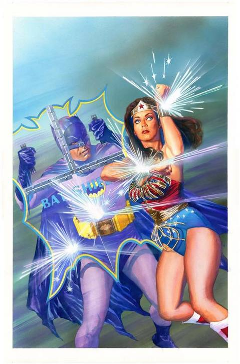 Batman '66 and Wonder Woman '77