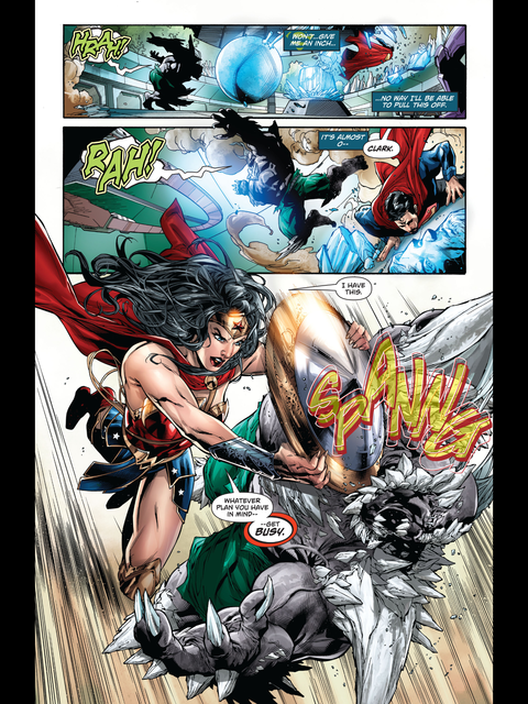 Diana arrives to save the day