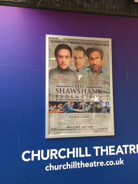The Shawshank Redemption at the Churchill Theatre in Bromley