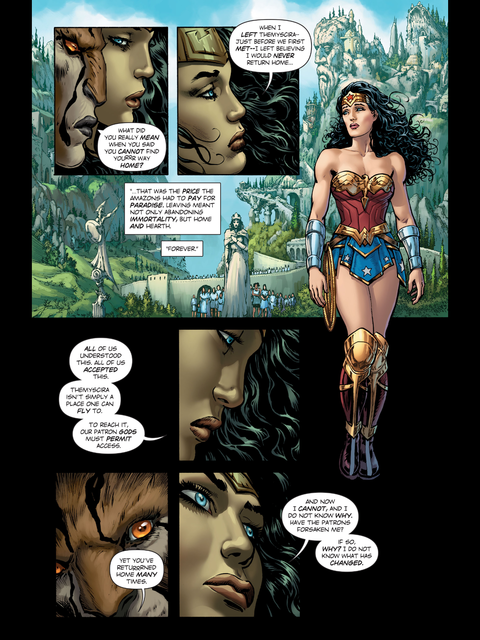 Wonder Woman needs help