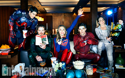 The CW's superheroes