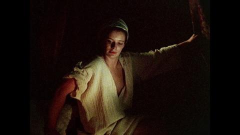 Girl posing in 'Shalcken The Painter'