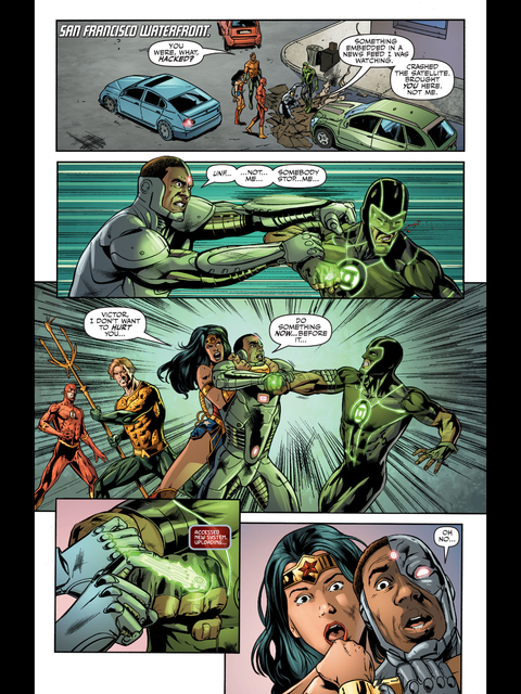 Cyborg gets hacked