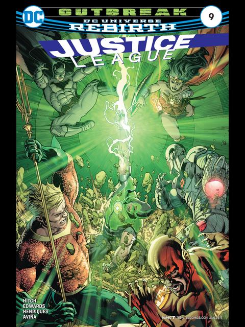 Justice League (Rebirth) #9