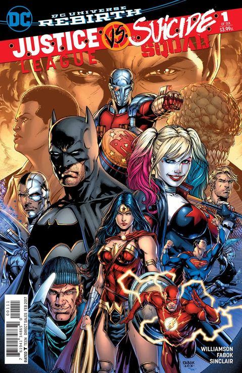 Justice League v Suicide Squad