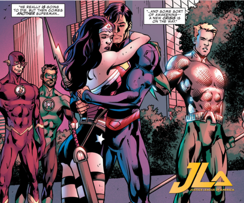 The end of Justice League of America #10