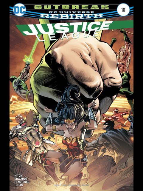 Justice League (Rebirth) #10