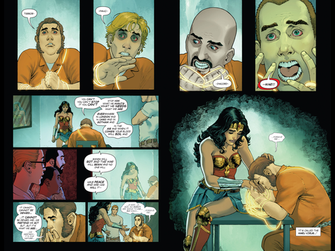 Interrogation, Wonder Woman style