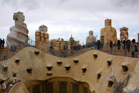 Witch scarers of Barcelona