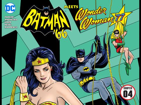 Batman '66 meets Wonder Woman '77 #4