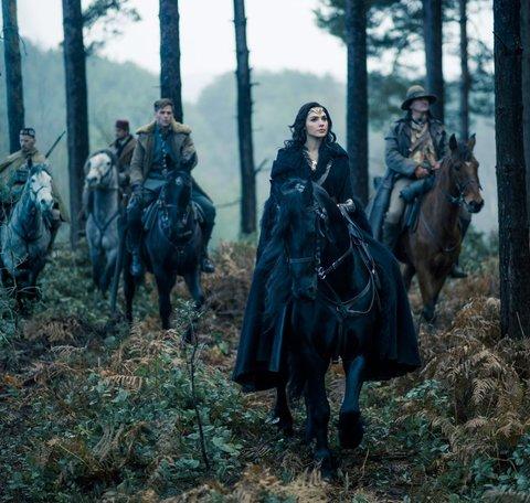 Diana on horseback
