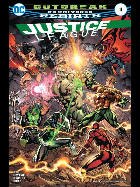 Justice League (Rebirth) #11