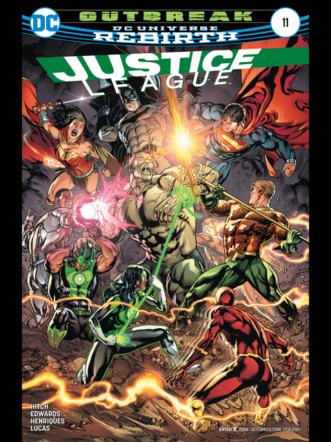 Justice League (Rebirth) #11